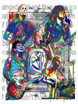 "311, Nick Hexum, Doug Martinez, Tim Mahoney, P-Nut, Sexton, 18""x24"" Art ... - $19.99"