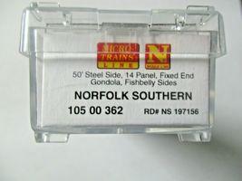 Micro-Trains # 10500362 Norfolk Southern 50' Steel Gondola w/Load N-Scale image 6