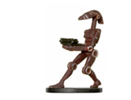 BATTLE DROID 6 Wizards of the Coast STAR WARS Miniature - $1.99