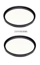 2X Uv Filters For Sony HVR-Z7 HVR-Z1 HVR-S270J FDR-AX1 FDR-AX1E FDR-AX1E/B - $13.56