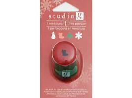 Hampton Art Studio G Mini Stocking Punch #VPU0004