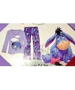 Womens Disney Eeyore Under The Weather Pajama Set Size Medium - $20.00