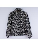 Chico's Lightweight Full Zip Rain Jacket Women's Size 1 Leopard Animal P... - $16.65