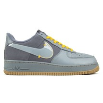 Nike Air Force 1 Premium Grey / Yellow Shoes / Trainers image 2