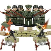 Holland Worldwar Military Soldier With Weapon Sandbag Fencingwire Fit Le... - $11.99