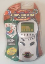 Texas Hold 'em PokerUltimate Showdown Electronic Handheld Game - $19.79