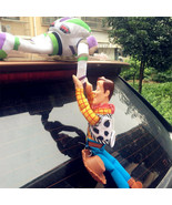 Wonder Toy Story 4 Sheriff Woody help Buzz Car Doll Outside Car Decoration - $21.99