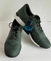 Asics Women Dark Green Low Fuzex Rush Adapt Running Shoes T835N.8210 Siz... - $44.95