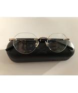 Bross Rimless 15195 Eyeglass Frames 46-20-140 Unisex Eyeglasses Gold - $74.95