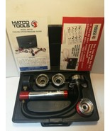 Matco Tools Model Rpt101 Cooling System Pressure Tester Complete in Case... - $118.79
