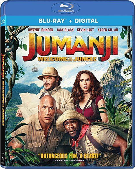 Jumanji: Welcome to the Jungle [Blu-ray, 2018]
