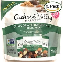 Orchard Valley Harvest Snack Packs - Chocolate Raisin Nut Mix - 15 Ct. Mix Multi
