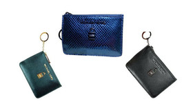 ❤NWT Michael Kors Adele Zip Coin Wallet ID Keyring Card Holder Jet Set K... - $35.00+