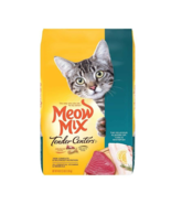 Meow Mix Tender Centers Dry Cat Food, Tuna And Whitefish Flavors (3lb Bag) - $22.79