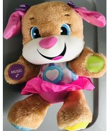 Laugh & Learn Sis Fisher Price Pink Dog Learning Smart Stages Interactiv... - $19.27