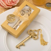 Gold vintage skeleton key bottle opener from fashioncraft  - $4.99