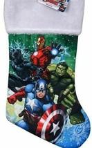 Licensed Character Felt Christmas Stocking Marvel Avengers or Batman - $10.00
