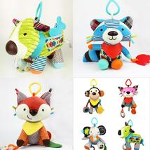 18cm*24cm best quality Baby Kids Cartoon Animal Plush Baby Rattles & Mob... - $25.00
