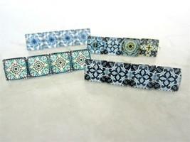 Small decorative tile hair clip barrette for fine hair - $9.95