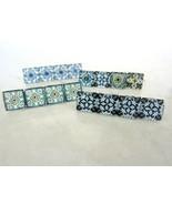 Small decorative tile hair clip barrette for fine hair - £7.14 GBP