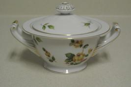 Lynmore Fine China Golden Rose Sugar Bowl - $35.00
