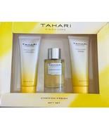 Tahari Parfums Chiffon Gift Set Chiffon Parfum, Body Lotion And Shower ... - $43.07