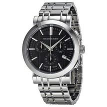 Burberry Men's Watch BU1360 Heritage Silver Tone Stainless Steel Bracelet Dark. - $257.00