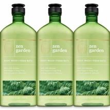 New Bath & Body Works Aromatherapy Zen Garden Body Wash + Foam Bath 3 Pc... - $32.71