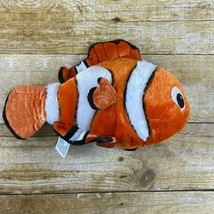 "DISNEY PARKS 10"" Plush FINDING NEMO Orange Clown Fish Stuffed Animal Toy - $14.99"