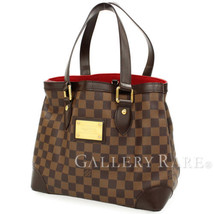 LOUIS VUITTON Hampstead PM Damie Ebene N51205 France Tote Bag Authentic ... - $1,000.80