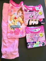 3T DISNEY PRINCESS PONY MOVIE MINNIE 2 Piece Flannel Sleep Wear Set of 3 - $14.85