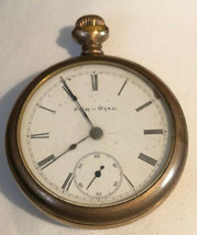 Vintage Antique Elgin  Sun Dial Pocket Watch As Is Parts - €139,50 EUR