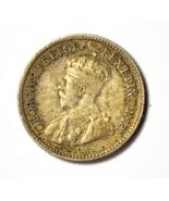 1920 5c Canada Silver Half Dime Five Cents Rare KM# 22a Rare - €8,51 EUR
