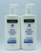 2 x Neutrogena Norwegian Formula Deep Moisture Hypoallergenic Body Lotion 13.5oz - $29.99