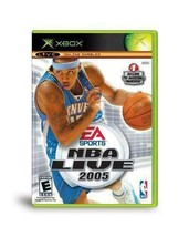 NBA Live 2005 - Microsoft Xbox [Used] - $5.79