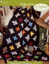 Crochet Pattern - Cathedral Window - The Needlecraft Shop - Thrifty Scraps - $1.50