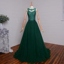 Ong evening dresses sexy see though back green lace appliqued wedding party.jpg 640x640 thumb200