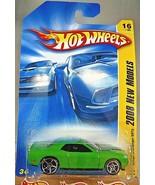 2008 Hot Wheels #16 New Models 16/40 DODGE CHALLENGER SRT8 Green Variant... - $9.95