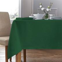 "Woven Damask Rose Green Rectangle Tablecloth 54""X70"" (137CM X 178CM) & 4 Napkins - $29.29"