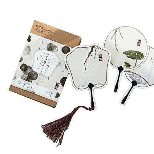 Vintage Style Post Cards Fan Shape Greeting Cards Set of 30 - £11.83 GBP