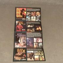 Sega CD Live Action Motion Picture Games Pamphlet - $25.00