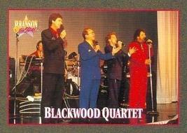 Blackwood Quartet trading card (Country Music) 1992 Branson on Stage #1 - $3.00