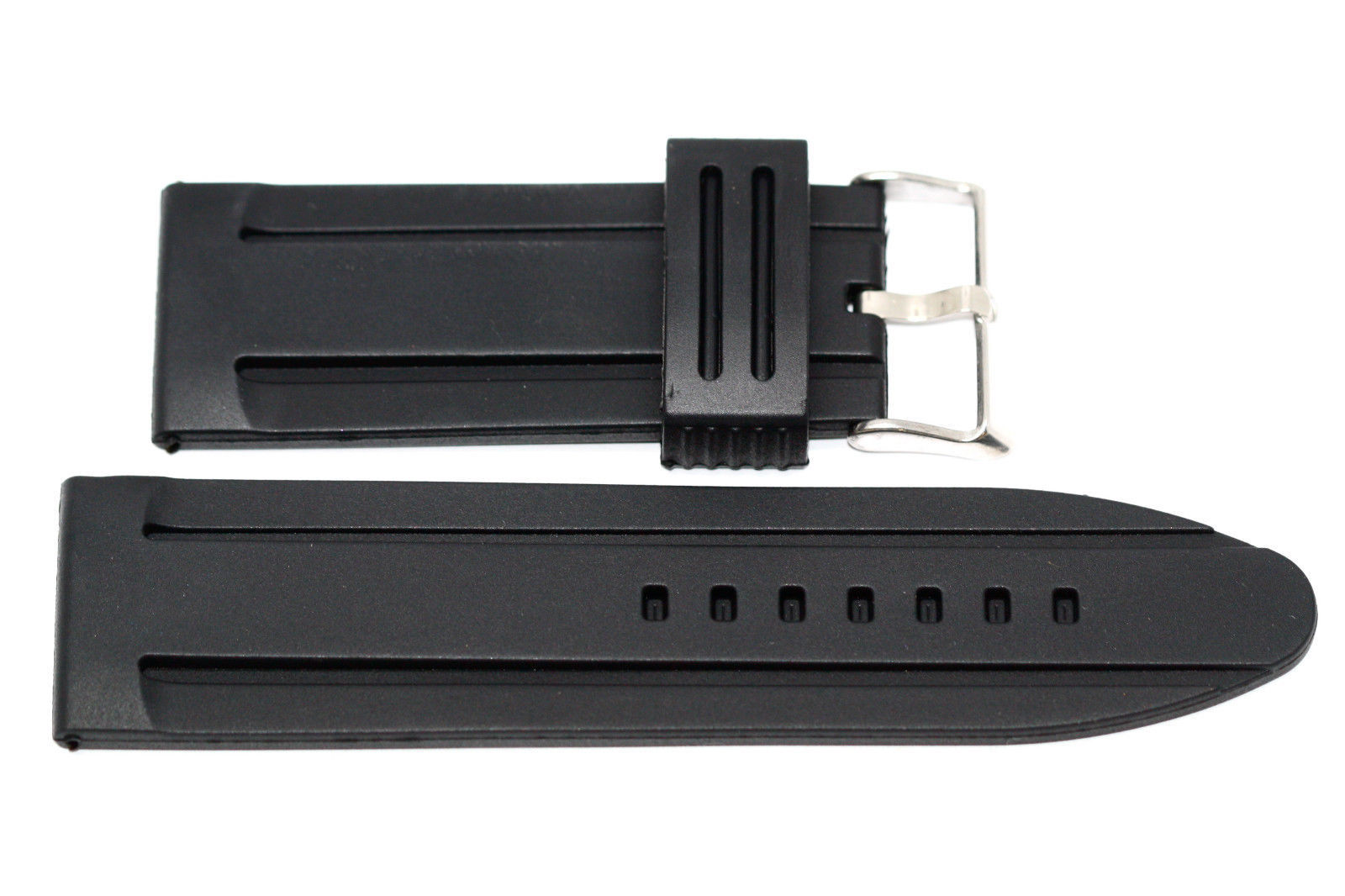 Primary image for 28MM JELLY RUBBER SILICONE COMPOSITE WATCH BAND STRAP
