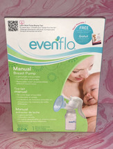 Evenflo Manual Breast Pump Lightweight & Portable (2860) NEW *sealed* - $19.78