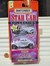 Matchbox 1997 GREASE GREASED LIGHTNING STAR CAR L/EDN 1933 FORD STREET R... - $22.72
