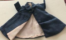 RARE Vintage Madame Alexander CISSETTE Blue  Coat For Repair - $54.64
