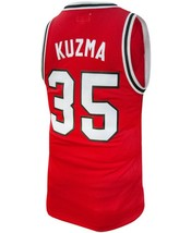 Kyle Kuzma #35 College Basketball Custom Jersey Sewn Red Any Size image 5