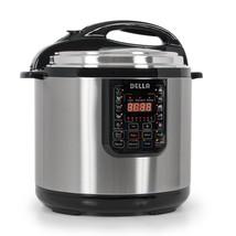 Instant Pot Pressure Cooker 10 in1 Programmable 12 Quart Electric Steel ... - £271.38 GBP