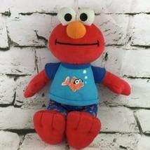 2010 Elmo So Sleepy Plush Toy Hasbro Sesame Street Lullaby Good Night Singing - $14.84