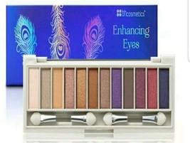 BH Cosmetics Enhancing Eyes - 12 Color Eyeshadow Palette - $10.29